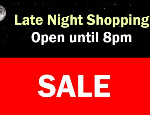 Black Friday & Late Night Shopping